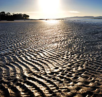 Sunrise over Freer's Beach, Shearwater, tasmania